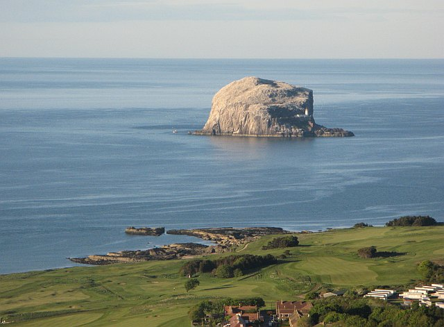 Bass Rock seen from North Berwick Law