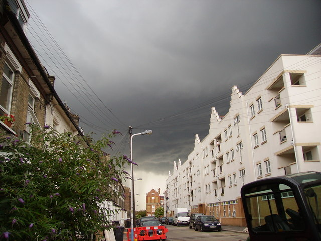 Storm Cloud at Morrish Road, SW2