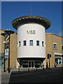 TQ8109 : Entrance to Marks & Spencer's, Priory Meadow Shopping Centre, Hastings by Oast House Archive