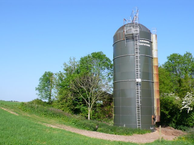 Farm Silo Tenants Hill Nigel Mykura Geograph Britain