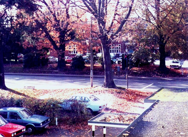 View from Hillview Court in the early 1980's