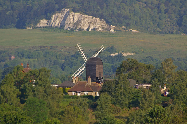Reigate Heath Windmill in Summer