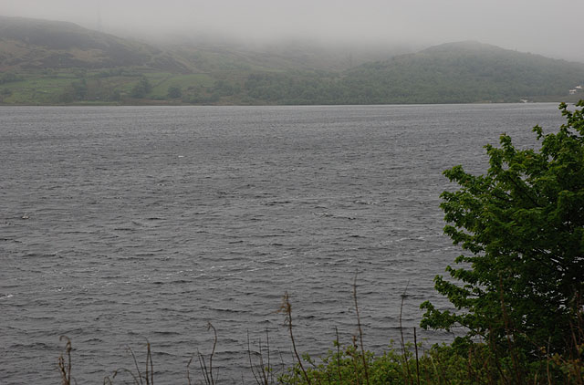 View across Llyn Celyn