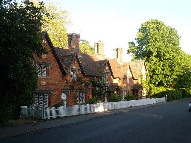 Canford Magna Lady Wimborne Cottages 169 Chris Downer Cc