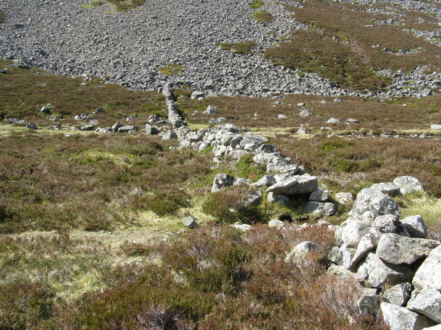 Wall in Glen Gairn