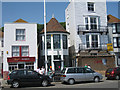 TQ8209 : 6, 7 & 8 East Parade, Hastings by Oast House Archive