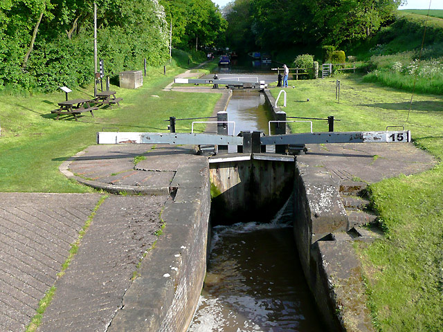 Audlem Locks (No 15), Shropshire Union Canal, Cheshire