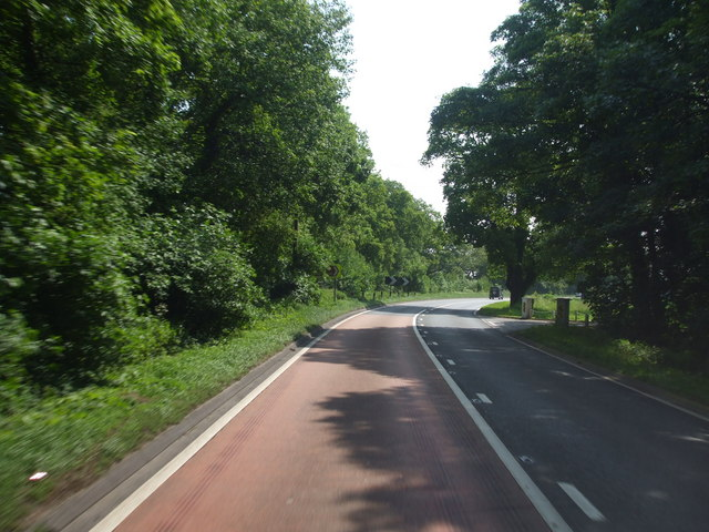 A17 Newark Golf course Entrance