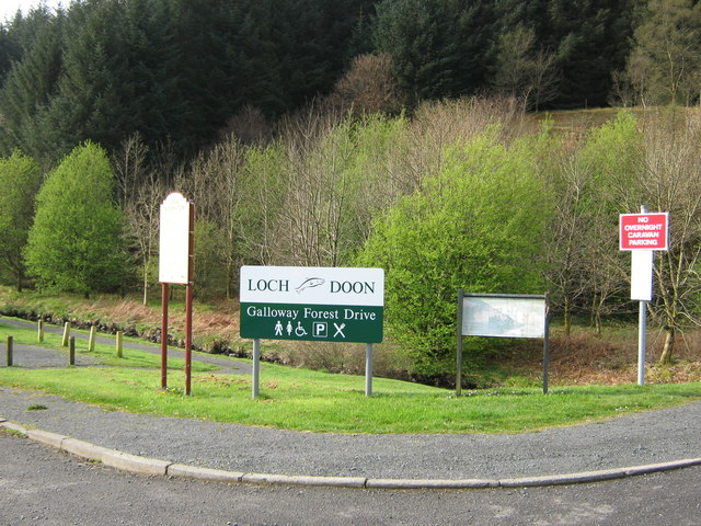 Road sign at the junction of A713 and minor road.