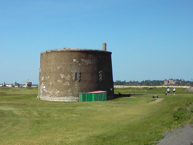 Martello Tower near Felixstowe Ferry