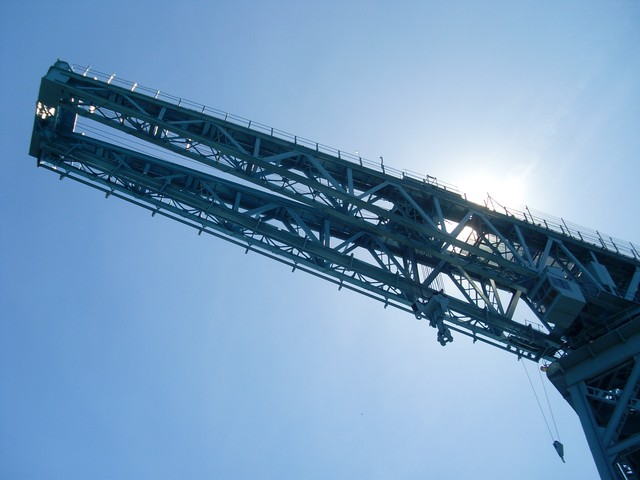Cantilever of Titan Crane