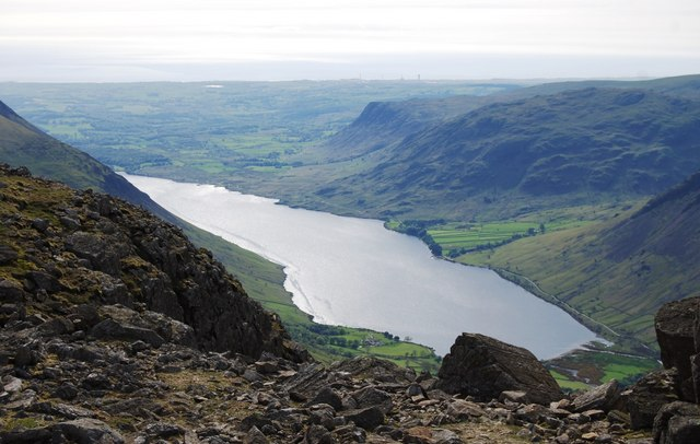 Wastwater from Scafell Pike