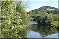 SJ1512 : Afon Vyrnwy from Meifod Bridge by John Firth