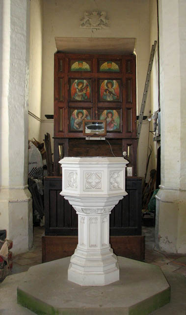St Peter's church - baptismal font