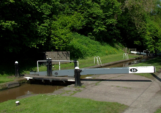 Audlem Locks (No 14), Shropshire Union Canal, Cheshire