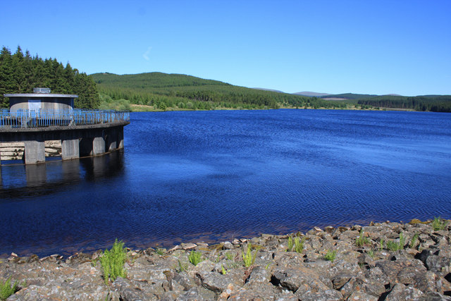 The Black Esk Reservoir