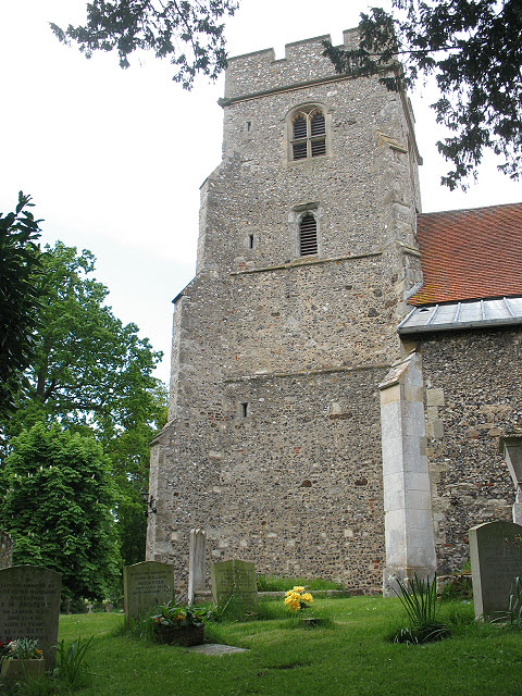 Tower of St Mary's church, North Mymms