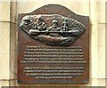 Photo of Terry Enright bronze plaque