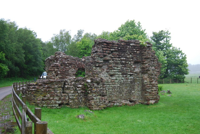 Remains of a Roman Bath House, Ravenglass