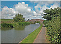 SJ3969 : Canal bridge by Dennis Turner