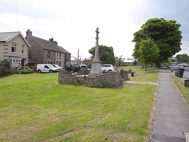 War Memorial, Cockfield