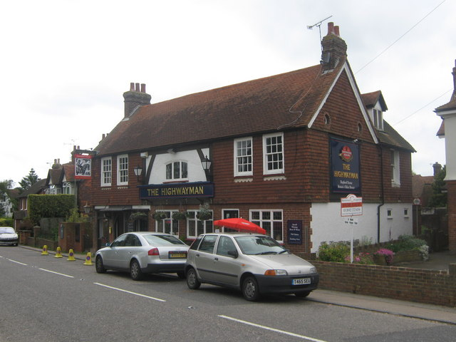 The Highwayman Public House, Horsmonden