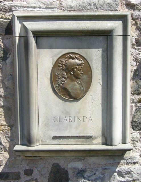Clarinda's grave, Canongate kirkyard
