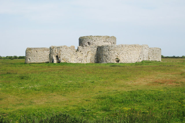 Camber Castle, Rye Harbour, East Sussex