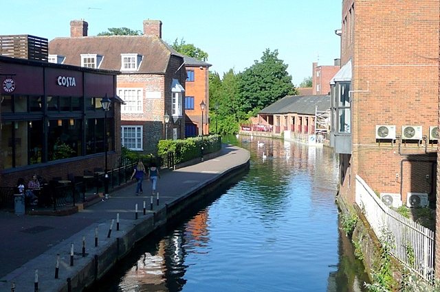 View from Newbury Bridge
