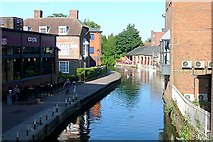 SU4767 : View from Newbury Bridge by Graham Horn