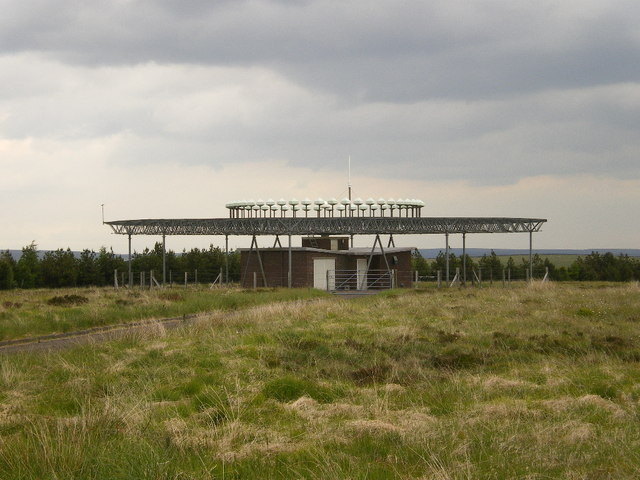 Pole Hill D-VOR DME air traffic navigation beacon
