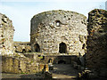 TQ9218 : Inside Camber Castle by Oast House Archive