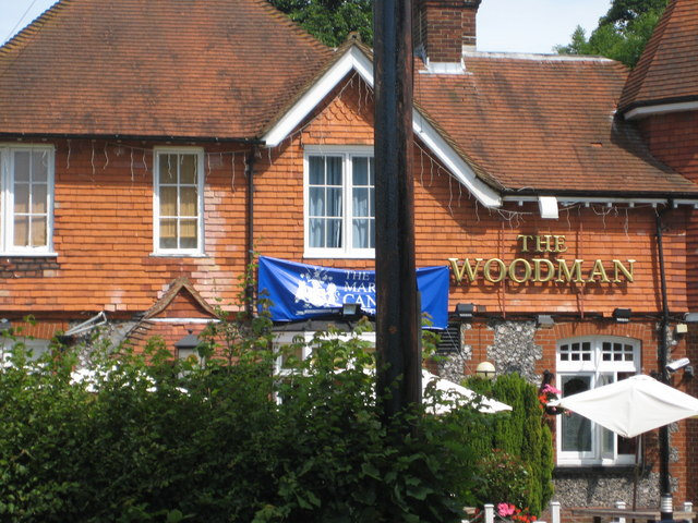 The Woodman pub