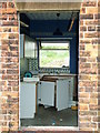 SE3381 : Sinderby Station's Combined Kitchenette & Gymnasium by Steve Reeves