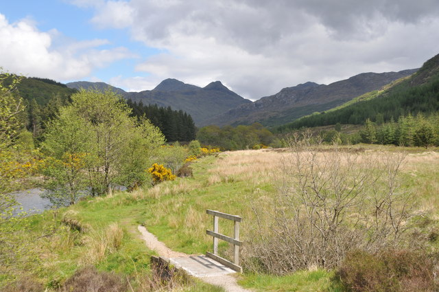 Strontian footpath