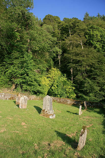 A graveyard at Benderloch
