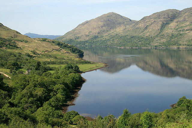 Inverliver Bay at Loch Etive