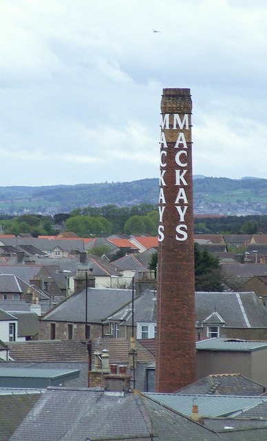 Last picture of Mackay's jam factory chimney