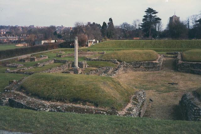 Verulamium - amphitheatre