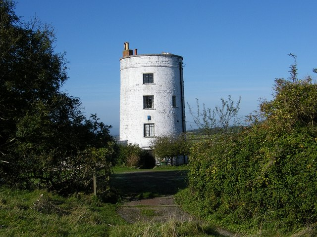 The Converted Windmill on Walton Hill