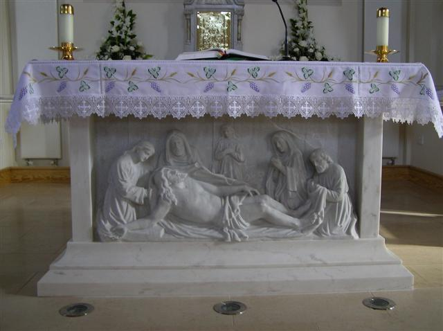 Catholic altar table