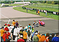 SU8707 : Taking the chequered flag by Dennis Turner