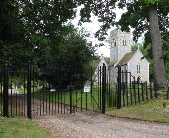 Entrance to Gillingham Hall