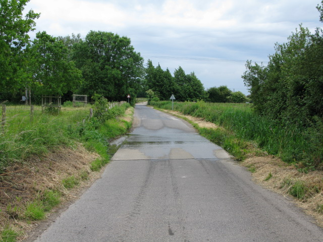 Small ford on the road to Ickham