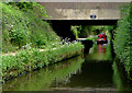 SJ9003 : Marsh Lane Narrows at Forster Bridge, near Wolverhampton by Roger  Kidd
