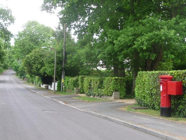 West Parley: postbox № BH22 176, Chine Walk