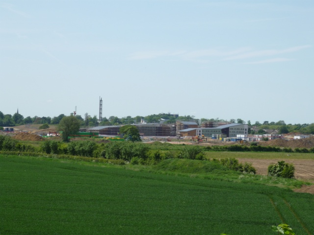 University Construction of Heslington East Campus