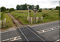 TF4507 : Level crossing, Wisbech bypass (3) by Andy F