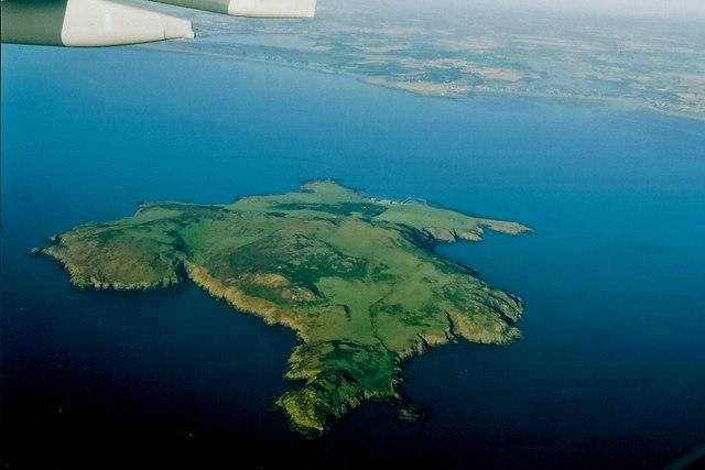 Lambay Island Map