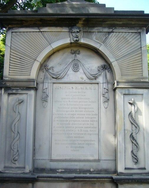 Joseph Black's Grave, Greyfriars Kirkyard